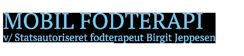 Fodterapeut i Lyngby, Gentofte, Holte, Virum, Nærum og Gladsaxe - Mobilfodklinik ved fodterapeut Birgit Jeppesen